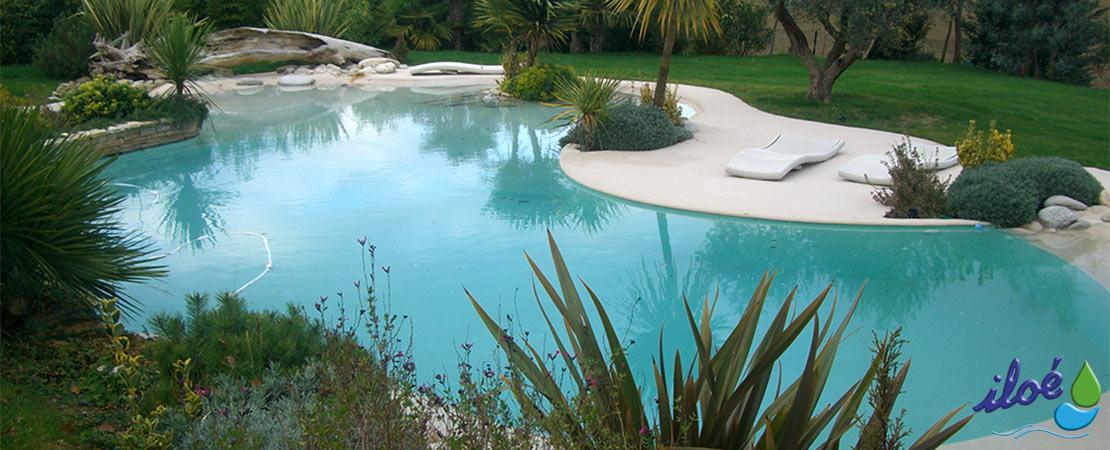 Piscine plage de b ton d corum for Coquillage piscine